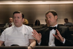 Bertram Pincus (Ricky Gervais) and Frank Herlihy (Greg Kinnear)