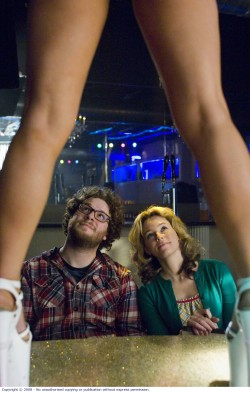 Zack (Seth Rogen) and Miri (Elizabeth Banks)