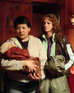 Lila (Misty Upham) and Ray (Melissa Leo)