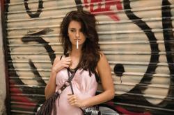 Penélope Cruz as Maria Elena in Vicky Cristina Barcelona