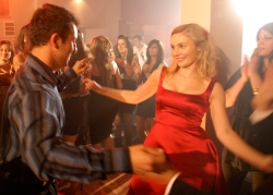 John (George Basha) and Sydney (Clare Bowen)