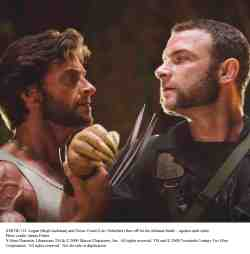 Wolverine and Victor Creed (Liev Schreiber)
