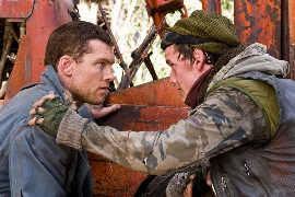 Marcus Wright (Sam Worthington) and Kyle Reese (Anton Yelchin)