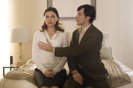 Judith (Virginie Ledoyen) and Nicolas (Emmanuel Mouret)
