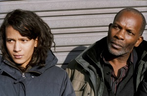 Joséphine (Mati Diop) and Lionel (Alex Descas)