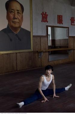 teenage Li Cunxin (Chengwu Guo)