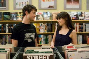 Tom Hansen (Joseph Gordon-Levitt) and Summer Finn (Zooey Deschanel)