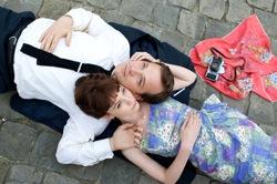 David (Peter Sarsgaard) and Jenny (Carey Mulligan)
