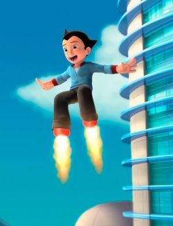 Astro Boy (voiced by Freddie Highmore)
