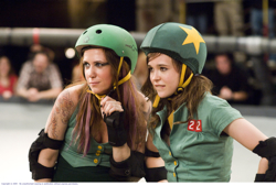 Maggie Mayhem (Kristen Wiig) and Bliss Cavendar (Ellen Page)