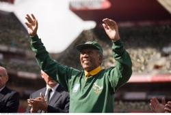Invictus: Nelson Mandela (Morgan Freeman)