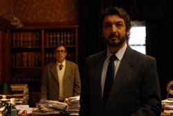 The Secret in Their Eyes: Pablo Sandoval (Guillermo Francella) and Esposito (Ricardo Darín)