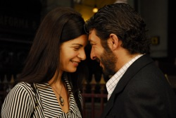 The Secret in Their Eyes: Irene Menéndez Hastings (Soledad Villamil) and Benjamín Esposito (Ricardo Darín)