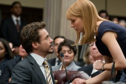 Iron Man 2: Tony Stark (Robert Downey Jr.) and Pepper Potts (Gwyneth Paltrow)