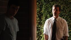 Animal Kingdom: Joshua 'J' Cody (James Frecheville) and Nathan Leckie (Guy Pearce)