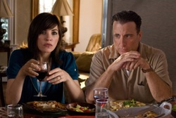 City Island: Joyce and Vince Rizzo (Julianna Margulies and Andy Garcia)