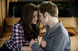 The Twilight Saga: Eclipse - Bella Swan (Kristen Stewart) and Edward Cullen (Robert Pattinson)