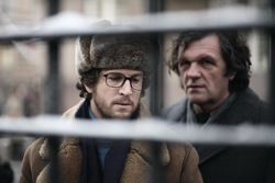 Farewell: Pierre Froment (Guillaume Canet) and Sergei Gregoriev (Emir Kusturica)