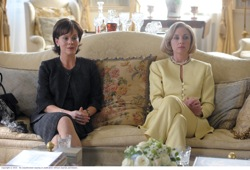 The Special Relationship: Cherie Blair (Helen McCrory) and Hillary Clinton (Hope Davis)