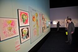 Mars Attacks! artwork from Tim Burton: The Exhibition