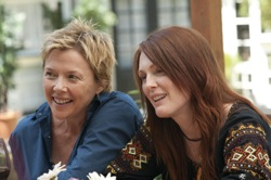 The Kids Are All Right: Nic (Annette Bening) and Jules (Julianne Moore)