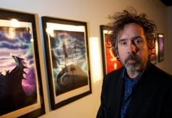 Tim Burton at Tim Burton: The Exhibition