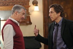 Little Fockers: Jack Byrnes (Robert De Niro) and Greg Focker (Ben Stiller)