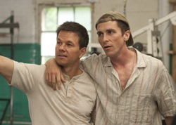 "The Fighter: ""Irish"" Micky Ward (Mark Wahlberg) and Dick ""Dicky"" Eklund (Christian Bale)"