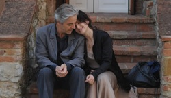 Certified Copy: James Miller (William Shimell) and she (Juliette Binoche)
