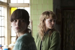 Never Let Me Go: Ruth (Keira Knightley) and Kathy (Carey Mulligan)