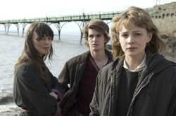Never Let Me Go: Ruth (Keira Knightley), Tommy (Andrew Garfield) and Kathy (Carey Mulligan)