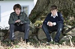 In a Better World: Elias (Markus Rygaard) and Christian (William Jøhnk Nielsen)