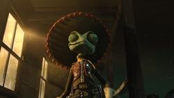 Rango (voiced by Johnny Depp)