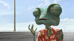 Rango (voiced by Johnny Depp)