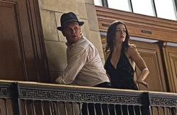 The Adjustment Bureau: David Norris (Matt Damon) and Elise Sallas (Emily Blunt)