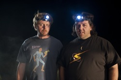 Paul: Graeme Willy (Simon Pegg) and Clive Gollings (Nick Frost)