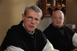 Of Gods and Men: Christian (Lambert Wilson) and Paul (Jean-Marie Frin)