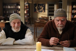 Of Gods and Men: Amédée (Jacques Herlin) and Luc (Michael Lonsdale)