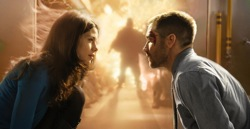 Source Code: Colter Stevens (Jake Gyllenhaal) and Christina Warren (Michelle Monaghan)