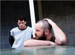 Snowtown: Jamie Vlassakis (Lucas Pittaway) and John Bunting (Daniel Henshall)