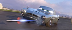 Cars 2: Finn McMissile (voice by Michael Caine)
