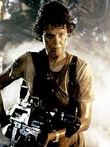 Aliens: Ellen Ripley (Sigourney Weaver)