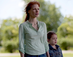 Take Shelter: Samantha (Jessica Chastain) and Hannah LaForche (Tova Stewart)