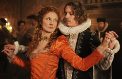 Anonymous: Young Queen Elizabeth I (Joely Richardson) and Young Earl of Oxford (Jamie Campbell Bower)