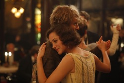 Midnight In Paris: Gil (Owen Wilson) and Adriana (Marion Cotillard)