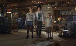 The Hole: Julie (Haley Bennett), Dane (Chris Massoglia) and Lucas (Nathan Gamble)