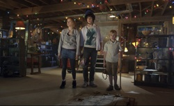The Hole: Julie (Haley Bennett), Dane (Chris Massoglia) and Lucas (Nathan Gamble)