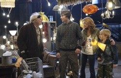 The Hole: Creepy Carl (Bruce Dern), Dane (Chris Massoglia), Julie (Haley Bennett) and Lucas (Nathan Gamble)