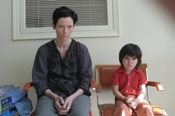 We Need to Talk About Kevin: Eva (Tilda Swinton) and Kevin as a toddler (Rocky Duer)