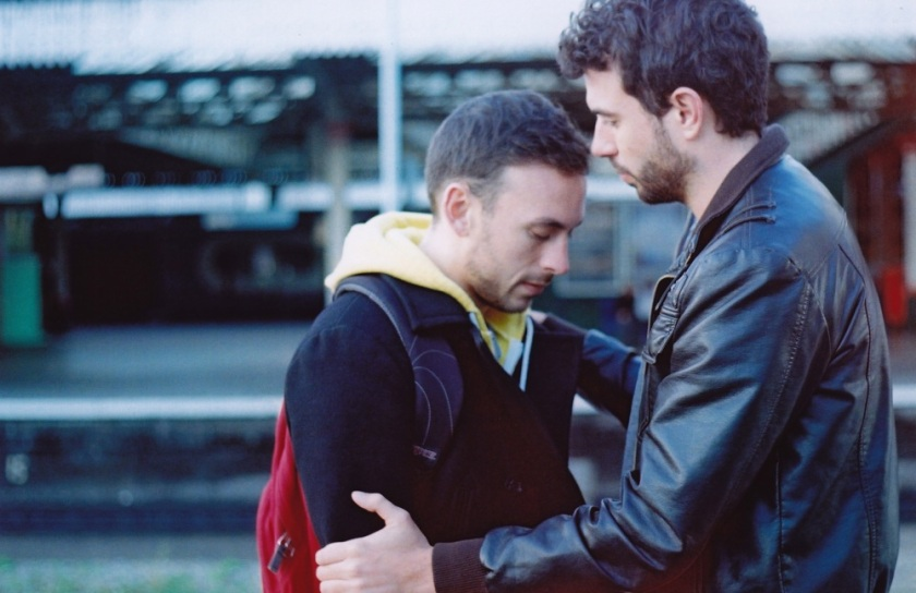 Weekend: Glen (Chris New) and Russell (Tom Cullen)